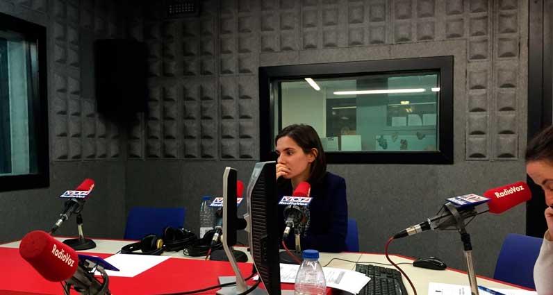 Noelia García Guillín en Radio Voz