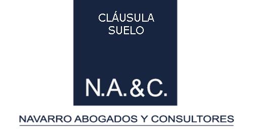 Cl usula suelo navarro abogados for Abogados clausula suelo