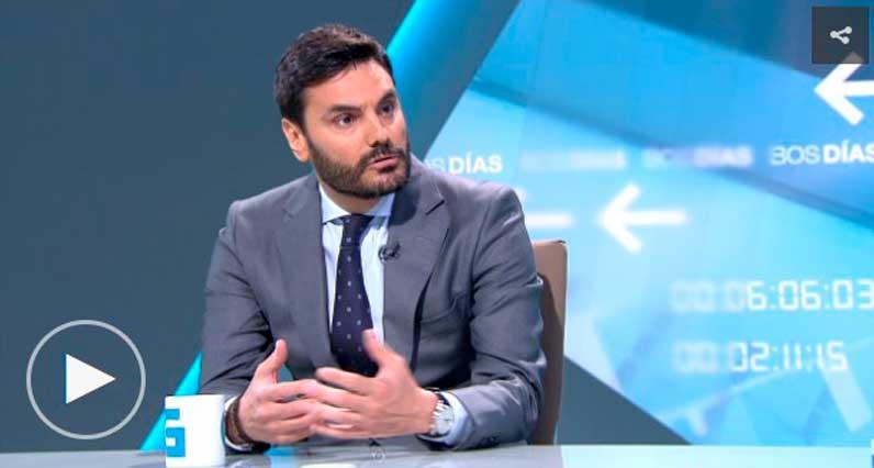 Entrevista a Alejandro Navarro en Televisión de Galicia