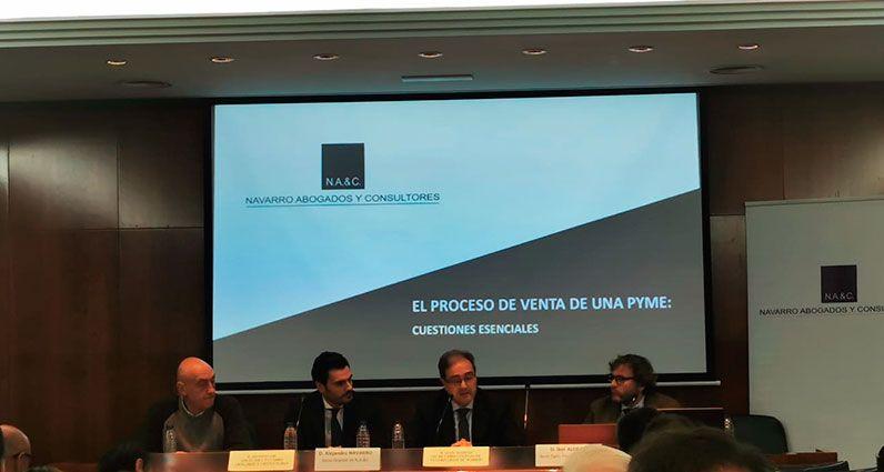 Charla Sobre M&A en el Colegio de Veterinarios de Madrid