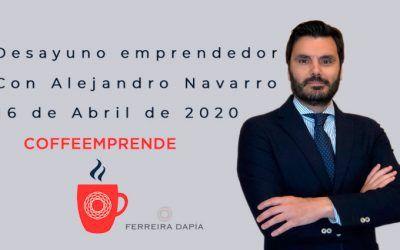 Próximo desayuno emprendedor con Alejandro Navarro